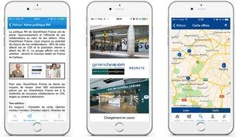 Talentsoft lance une application mobile dédiée au recrutement - D.R.