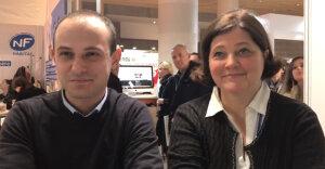 Delphine Tupin directrice de Tissot et Vincent Firmont manager commercial pour Rodacom - © D.R.