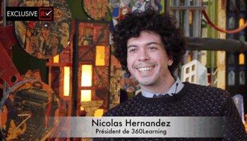 3 min avec Nicolas Hernandez, 360Learning - D.R.