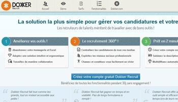Dokker Recruit, une solution pourfaciliter le recrutement des PME - D.R.