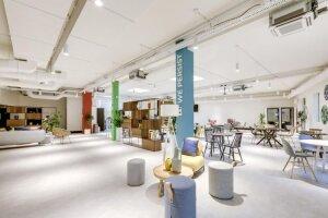 OpenClassrooms: espace commun au siège social