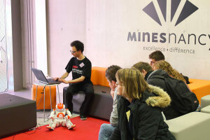 Etudiants des Mines Nancy, avant le confinement…