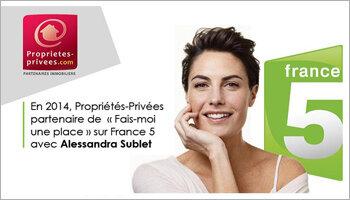L'audience de Propriétés-Privées.com bondit grâce à sa présence sur TF1 - D.R.