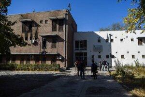L'Université de Kaboul après l'attaque terroriste du 2 novembre 2020 - © AFP/Wakil Kohsar